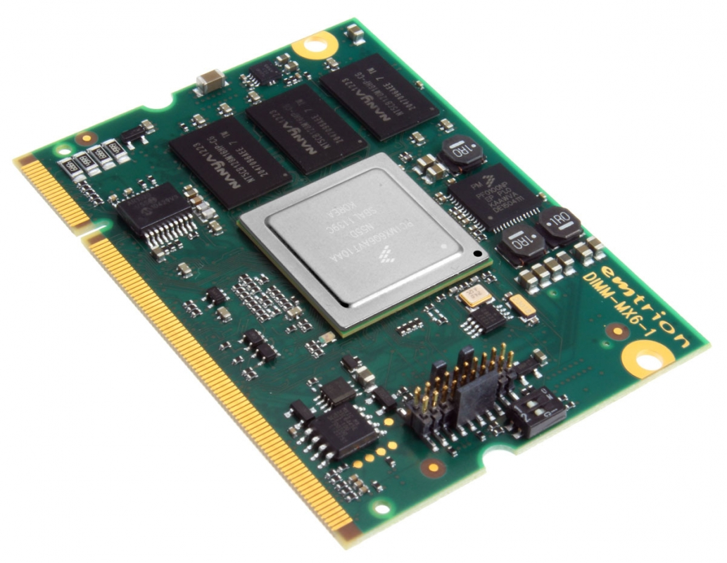 i MX6 Modul mit NXP MCIMX6 (PCIe) - emtrion