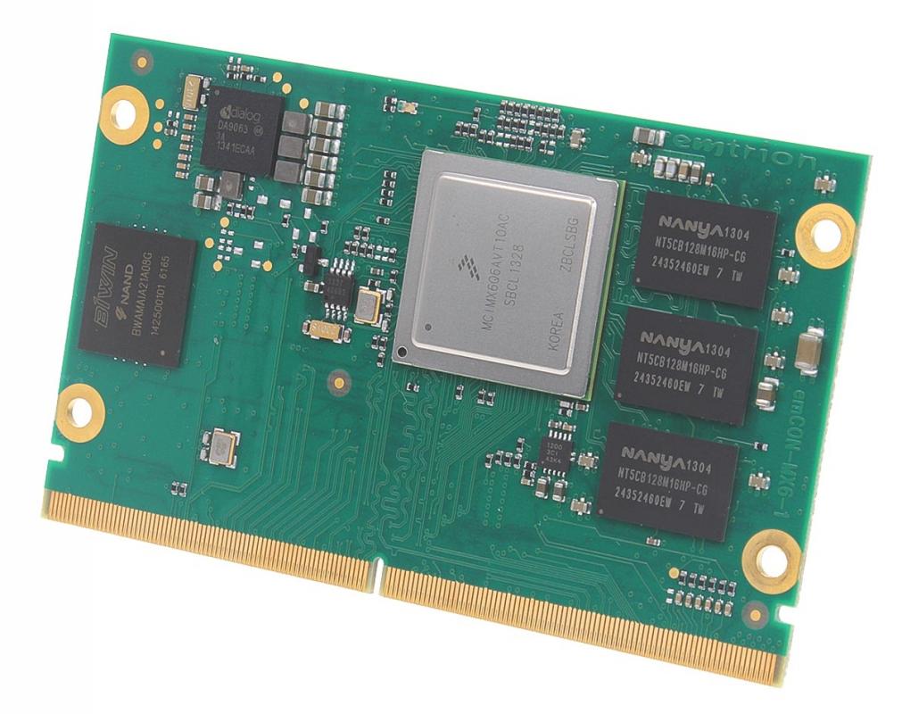 i MX6 Modul mit NXP MCIMX6 - emtrion